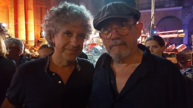 Con mi admiradísimo Silvio Rodríguez